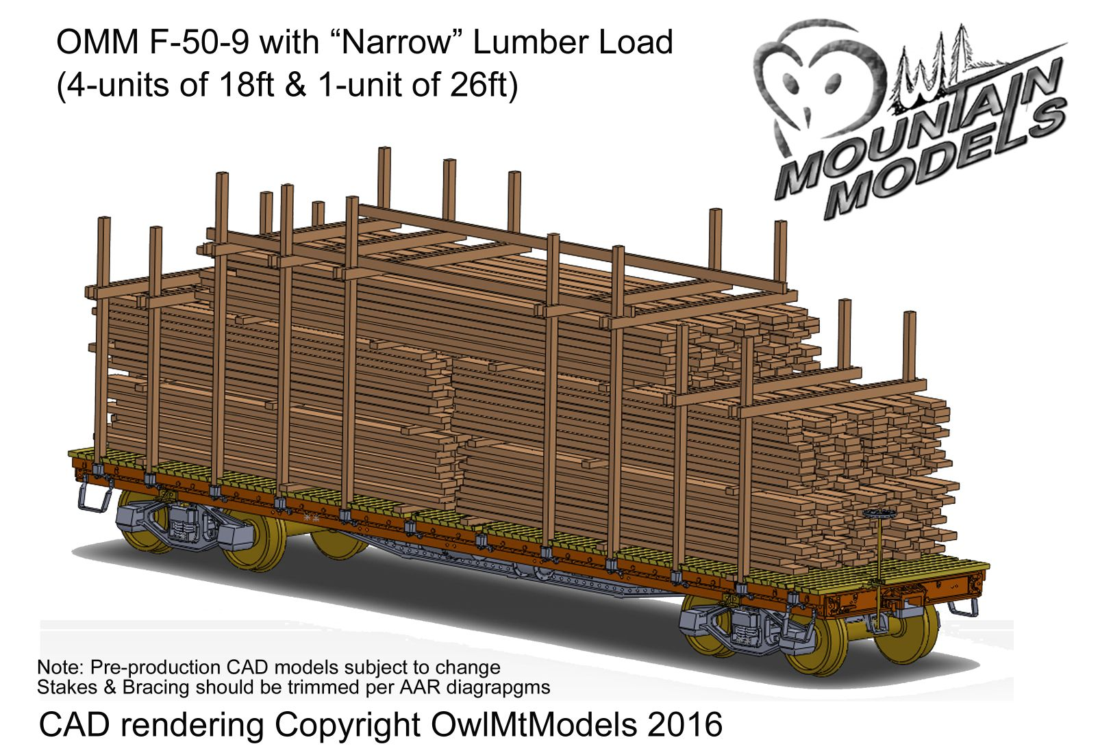 OMM concept for Narrow Lumber Load Kit